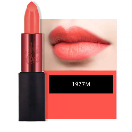 Miss Melbourne Lip Rouge #1977M (Opaque Orange)