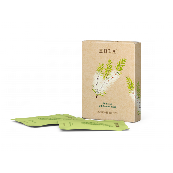 HOLA Tea Tree Oil-Control Mask 25ml*5
